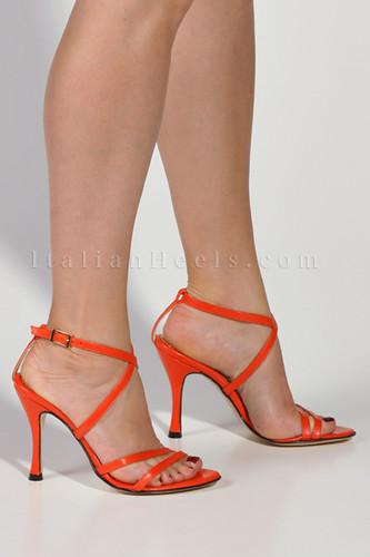 1124 high heels 4inch stiletto orange san flickr. Black Bedroom Furniture Sets. Home Design Ideas