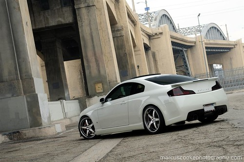 G35 Coupe Wallpaper White
