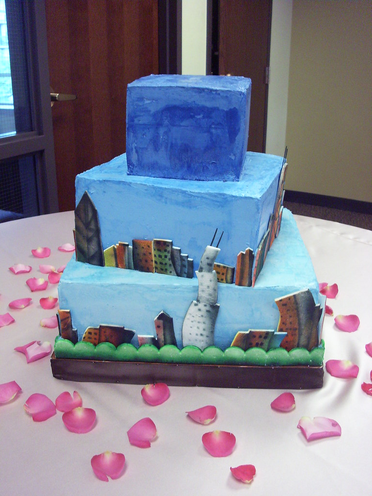 Leah And Tylers Wedding Cake