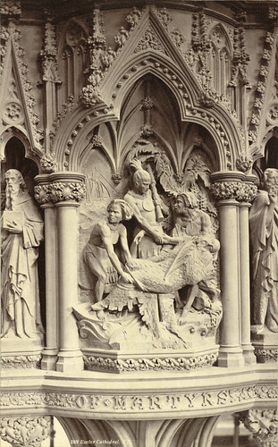 Exeter Cathedral. The Martyrs' Pulpit (Bishop Pattison Memorial Pulpit) | by Cornell University Library
