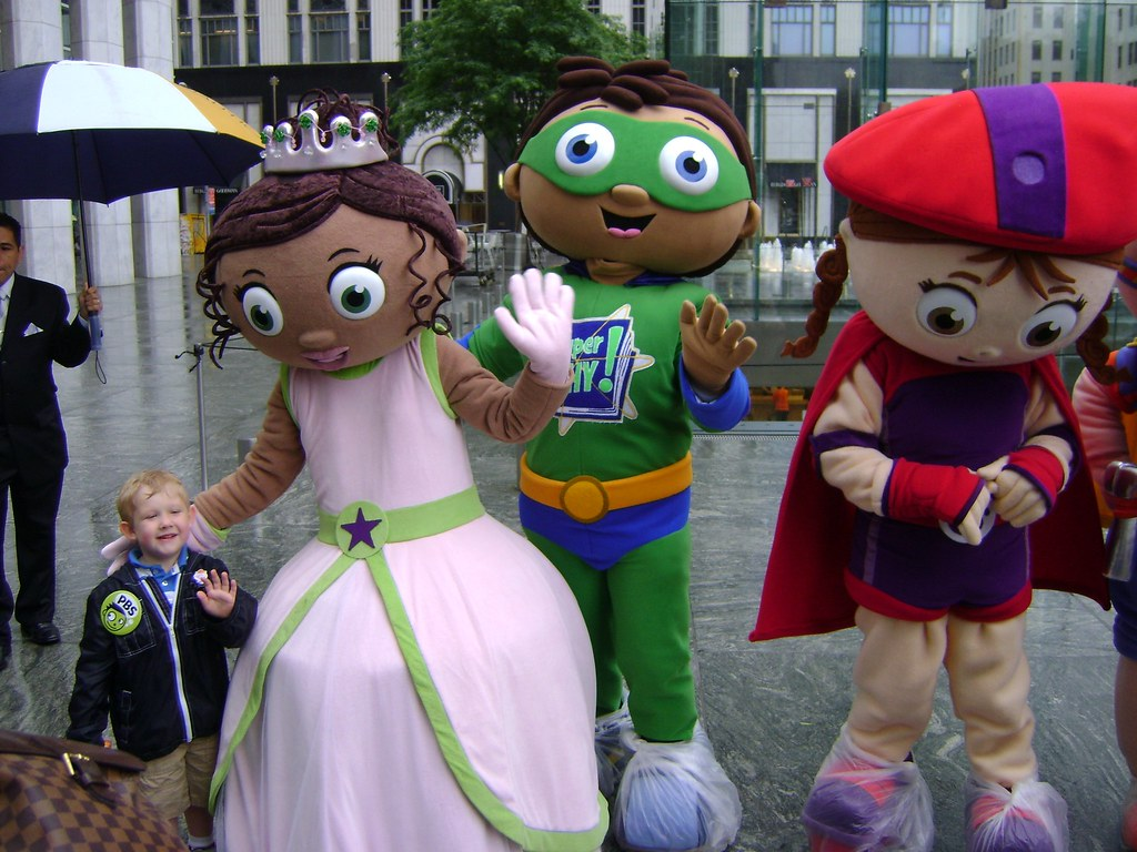 Lil Boo With Princess Presto SuperWHY And WonderRed B