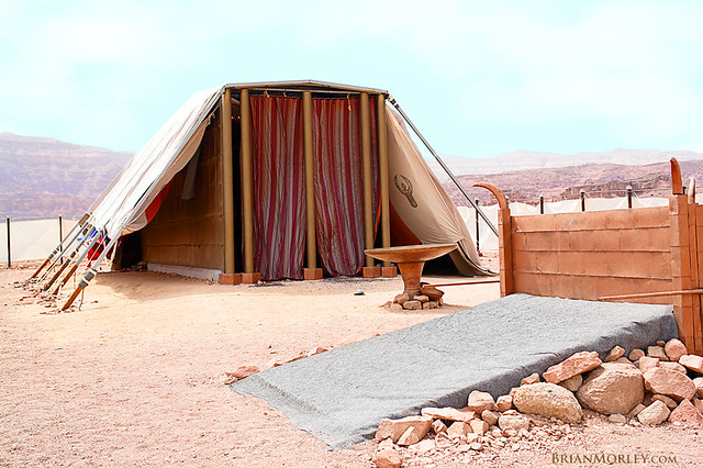 ... The Tent Full-Scale Replica of Israelu0027s Tabernacle; in Israel | by BrianMorley : tabernacle tent - memphite.com