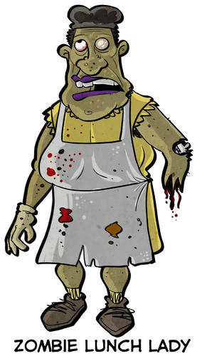 Zombie Lunch Lady | by ExtraLife