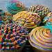 Technicolor Cupcakes