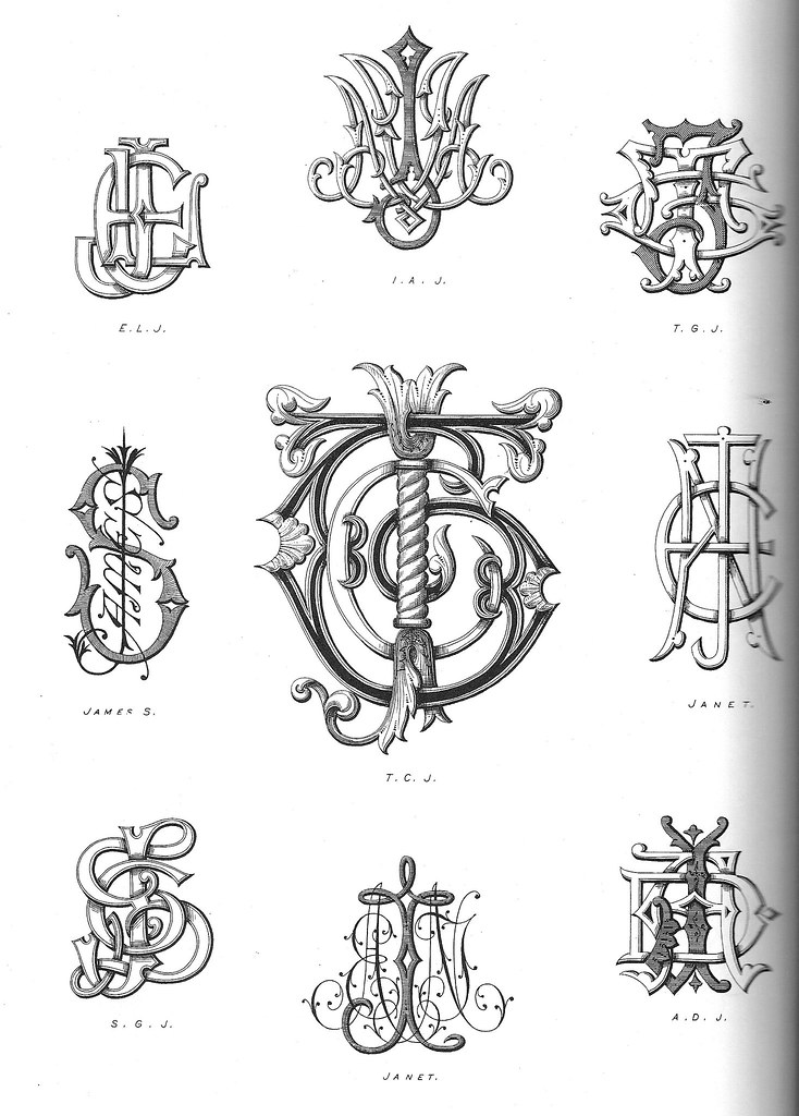 monograms2 | From Monograms and Alphabetic Devices ...