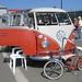 VW Bus 21 + VW Bicycle