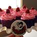 Raspberry Jam filled wedding cupcakes!