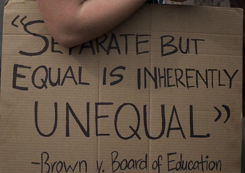Separate But Equal Quotes Separate But Equal Sign