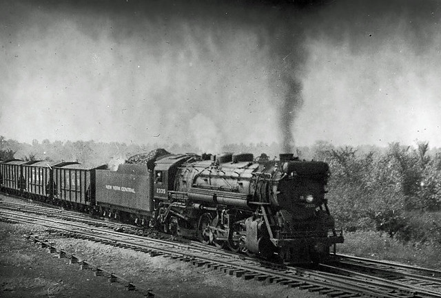 Cars In Ohio >> New York Central Steam:1938 | NYC engine pulling N&S coal ca… | Flickr