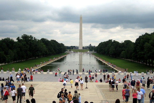 Washington Dc Washington Monument And Reflecting Pool