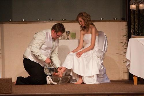 KD Wedding Foot... Feet Washing At Wedding
