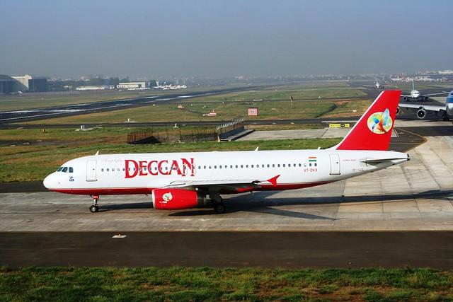 AIR DECCAN 320-200 VT-DKX(cn2077)
