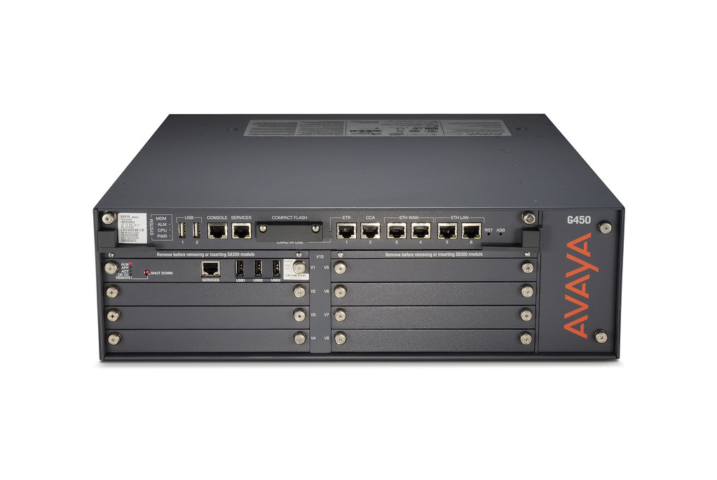 Avaya G450 Media Gateway The Avaya G450 Media Gateway