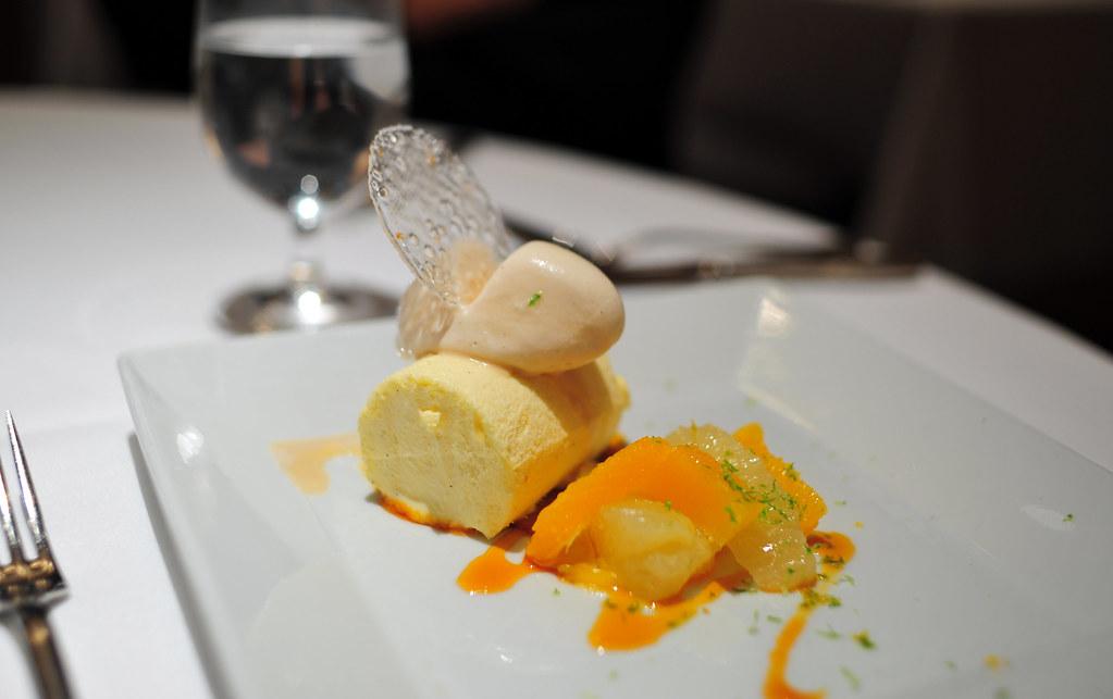 Frozen Tangerine Souffle | Frozen Tangerine Souffle Citrus s ...