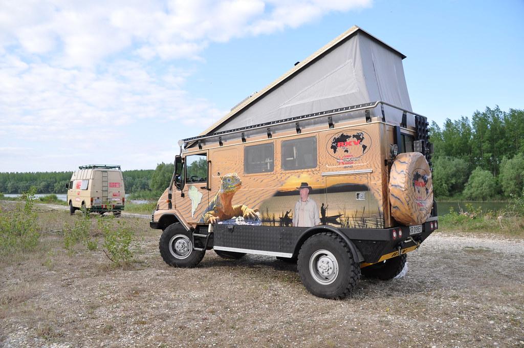 Creative Verkaufsfrderung 2015 Off Road Mageschneiderte Wohnmobil