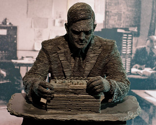 Alan Turing | by photoverulam