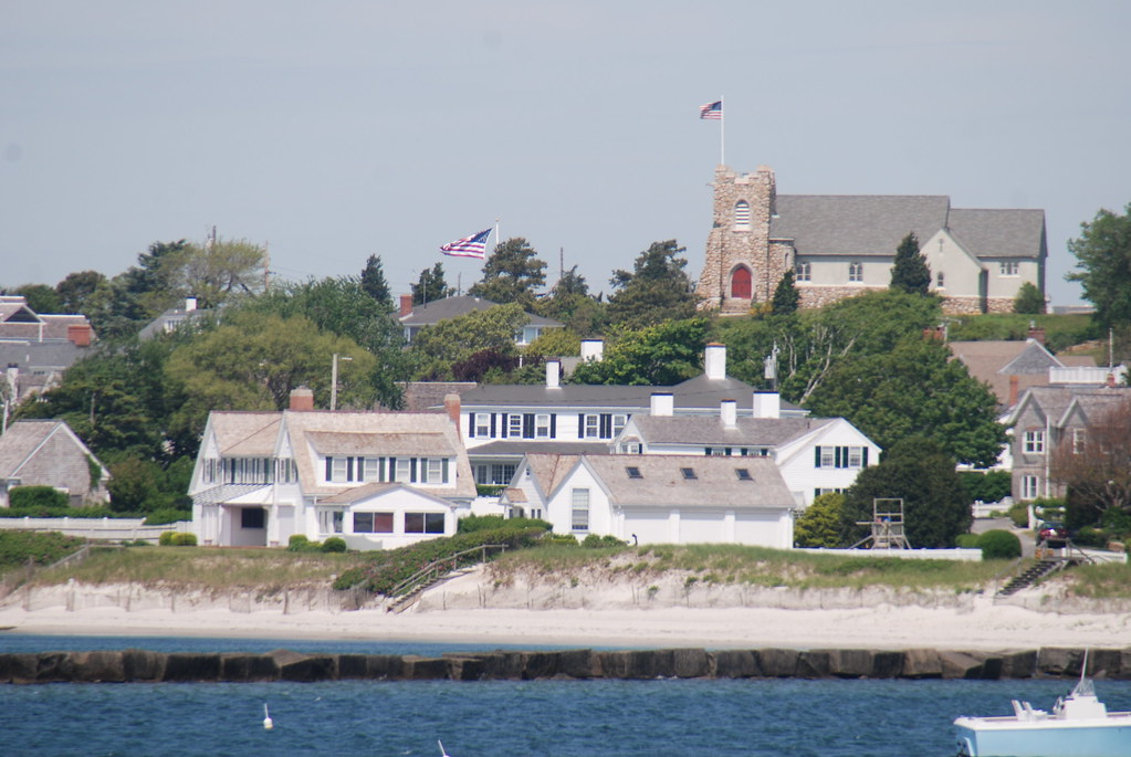 Kennedy Compound Hyannis Port Ma With Saint Andrews By