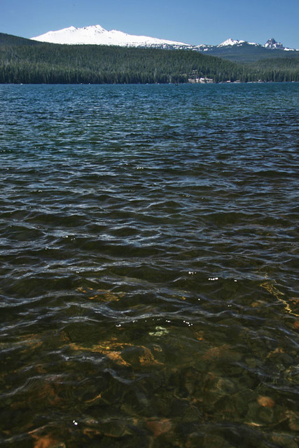 Odell lake descutes national forest oregon doug for Crescent lake fishing