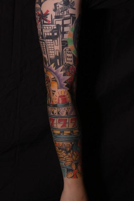 Tattoos casino sleeve / 4 bears casino poker