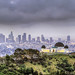 stormy morning of L.A
