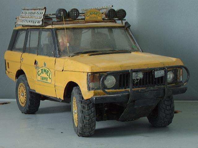 Land Rover Model Classic Range Rover Camel Trophy Range