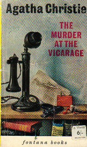 Book Cover Artist Jobs : The murder at vicarage by agatha christie cover art