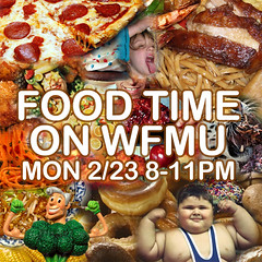FOOD TIME ON WFMU | by trontnort