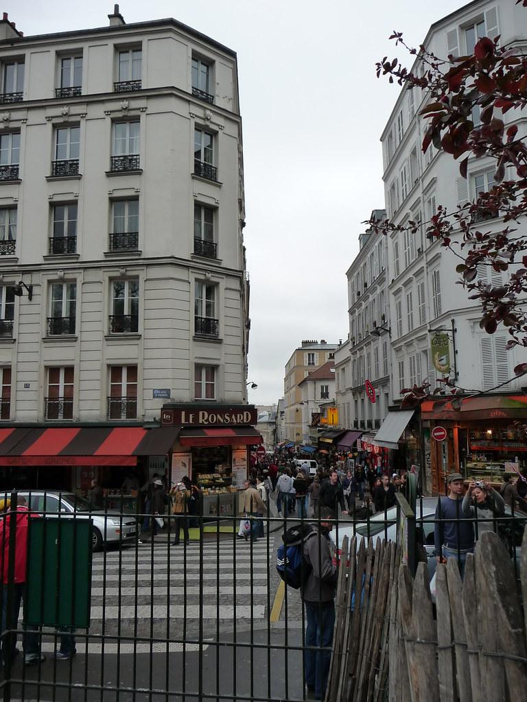 Place st pierre 448 near montmartre paris france carol flickr - Place saint pierre paris ...