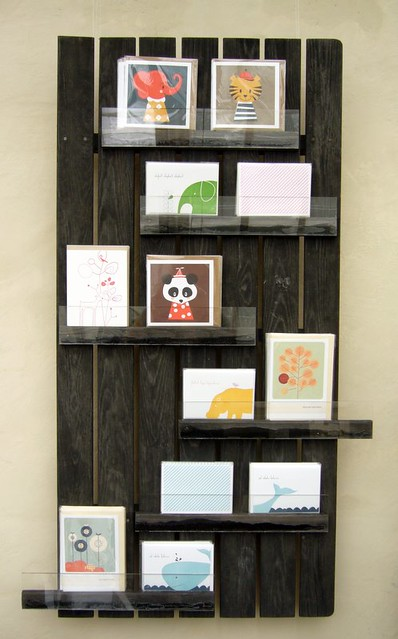 Recycled Card Display I Made This Card Display That Out