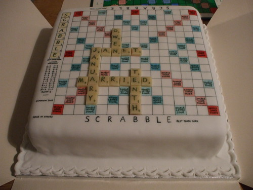 Scrabble cake | by janetmck