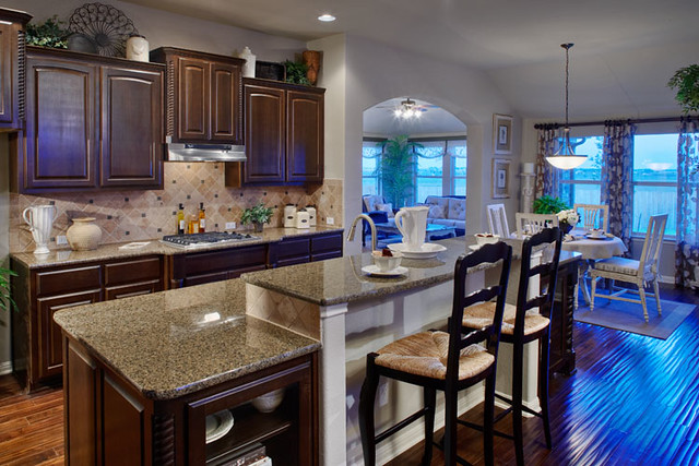 Wilshire Homes Austin Texas kitchen | www.wilshire-homes.com… | Flickr