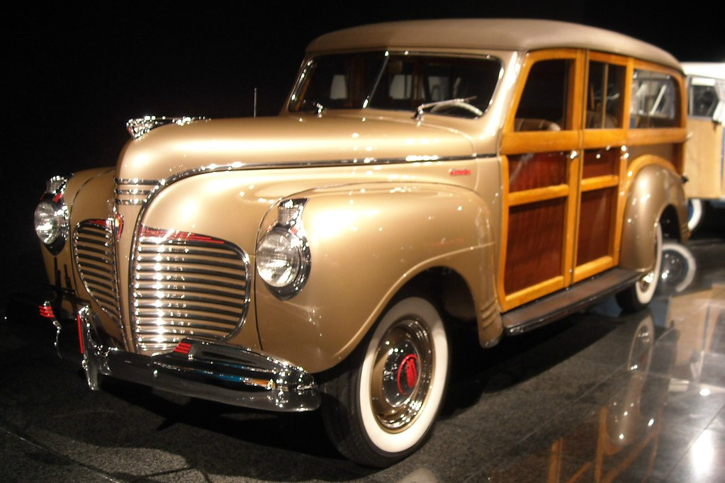 1941 Plymouth Special Deluxe Woody Wagon 1 Photographed