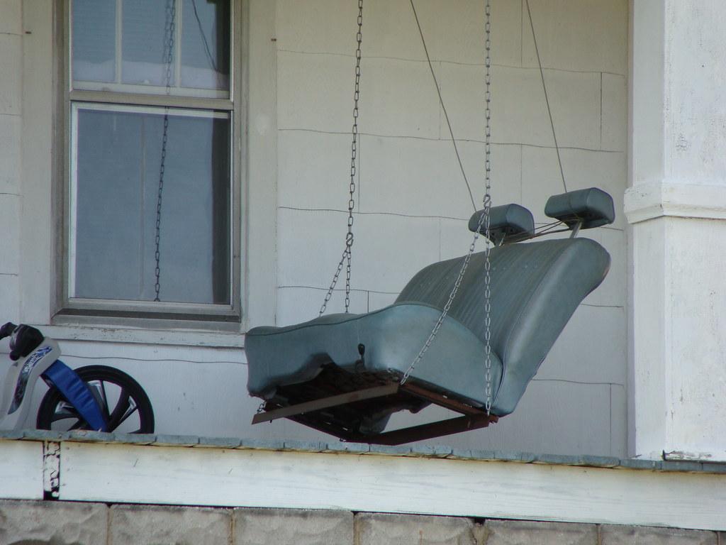 Redneck Porch Swing