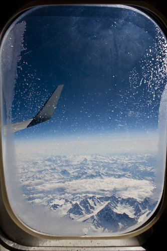 The Alps through an airplane window | Flickr - Photo Sharing!