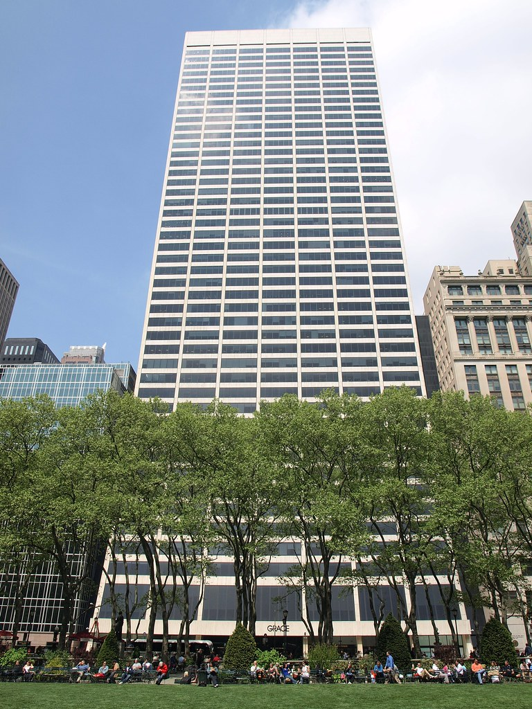 The Grace Building In New York City