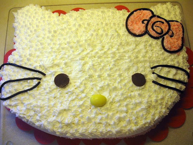 Hello Kitty Cake And Cupcake Ideas