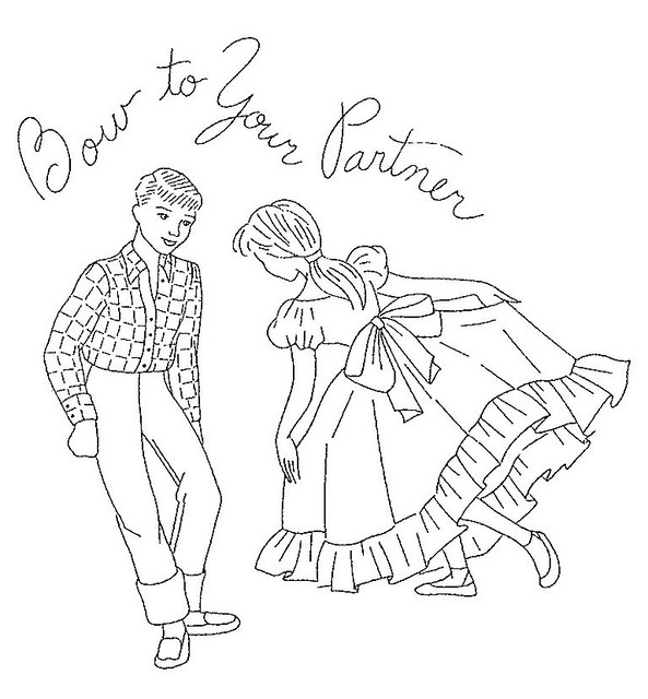 barn dance coloring pages - photo#6