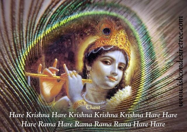 Iskcon Desire Tree Chant Mahamantra Poster 01 This