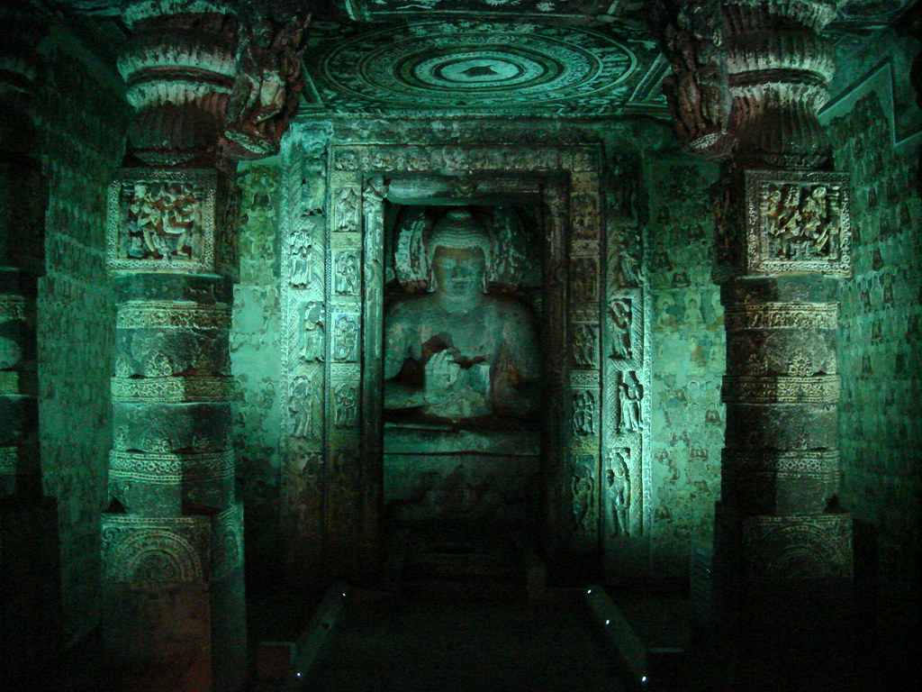 Inside Ajanta Caves Ajanta Is A Renowned Name In The