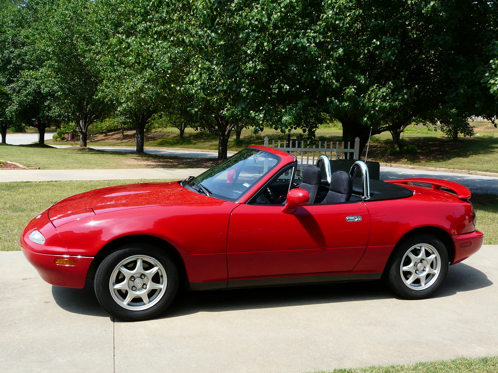 1994 Mazda Miata Mx 5 Convertible Just Sold My Baby