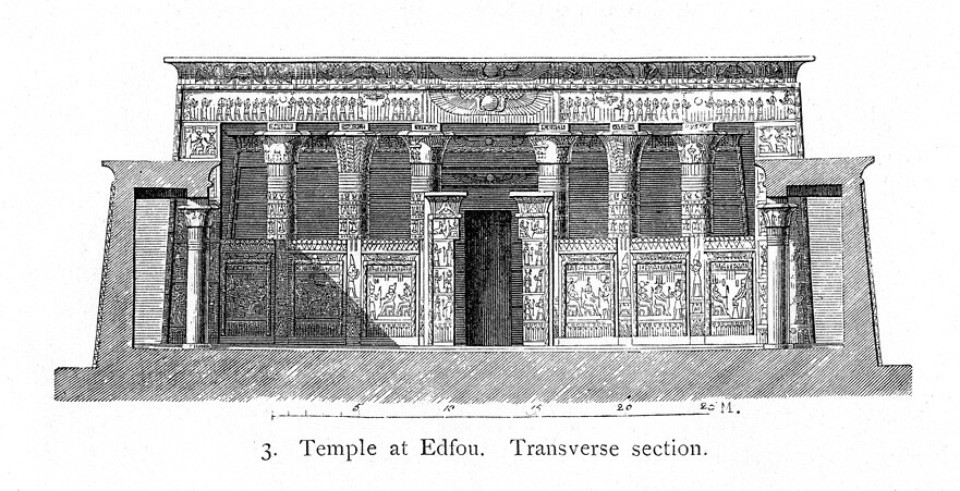 temple of horus possibly reconstruction section title