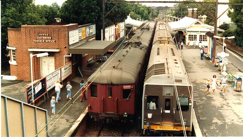 Chatswood Station As It Was 1980s Flickr Photo Sharing