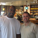 Mario Williams at Potbelly's in Houston