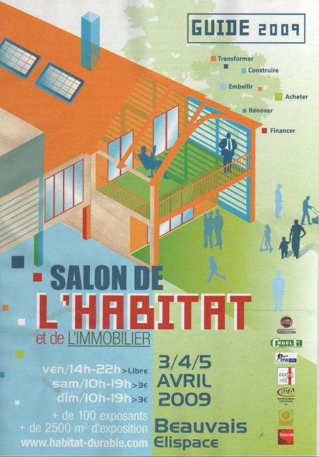 Guide salon de l 39 habitat beauvais 2009 70000 exemplaires for Salon de l habitat colmar
