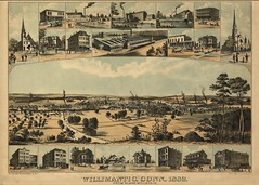 View of Willimantic, Conn. 1882.