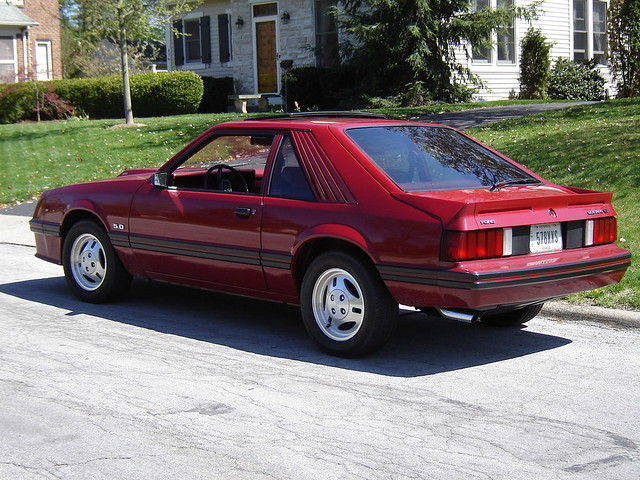 1982 ford mustang gt in front of my house tony militello flickr. Black Bedroom Furniture Sets. Home Design Ideas