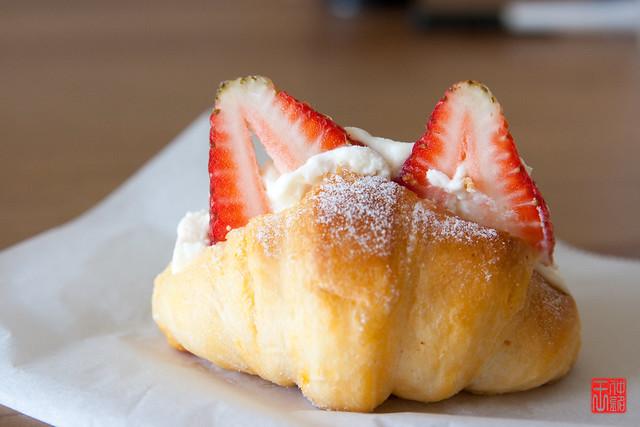 Strawberry Cream Puff | Flickr - Photo Sharing!