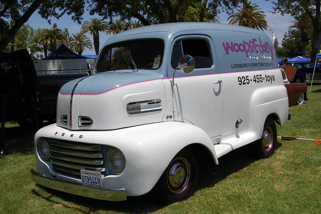 Ford Coe Delivery Good Guys Summer Get Together Alameda