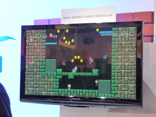 New Super Mario Bros. Wii @ Nintendo Booth | by JoshMcConnell