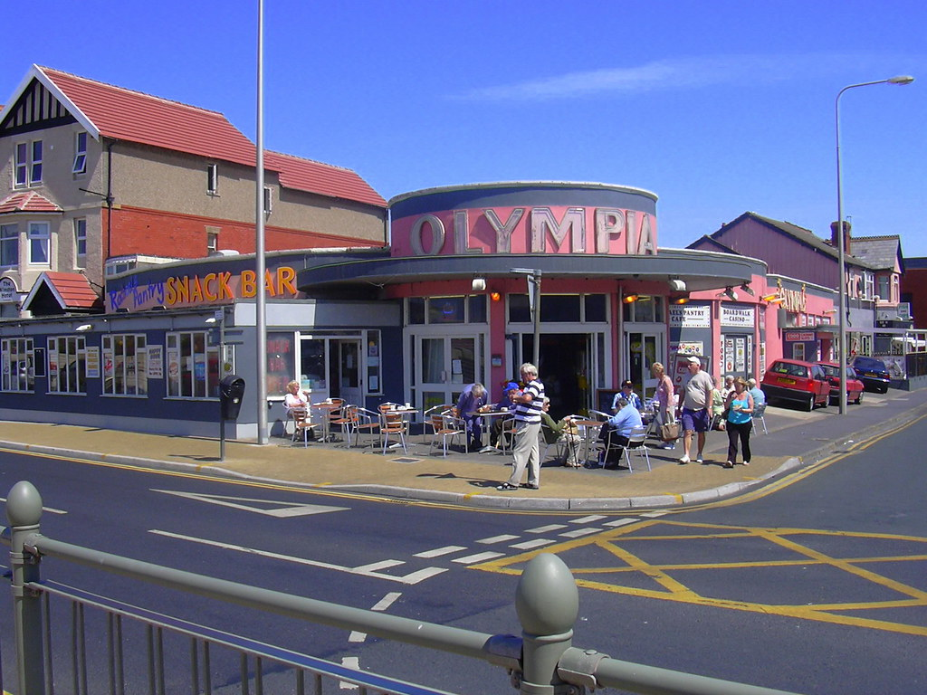 """The Olympia Chippy"" 1 Promenade North, Thornton-Cleveleys ..."